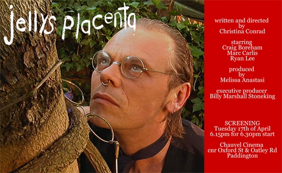 Film Invite for Jelly's Placenta